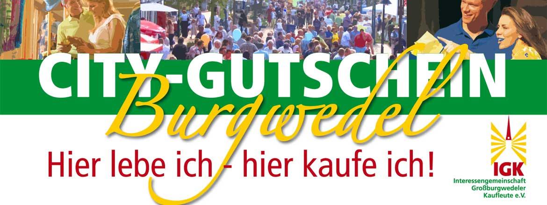 City-Gutschein Burgwedel